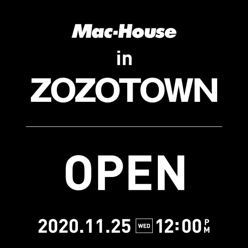 ZOZOオープン告知